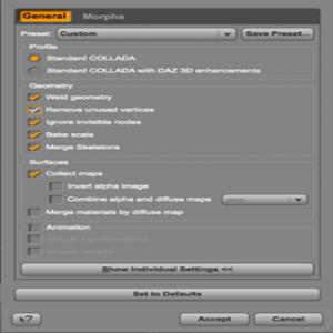 From Daz Studio to Blender 2.5