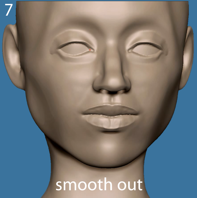 smooth out