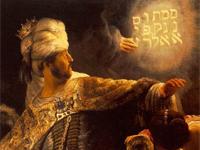 Rembrandt's'Belshazzar's Feast' (1635)